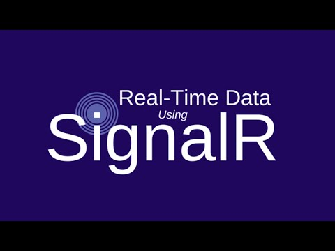 Example signalr with database in asp.net mvc