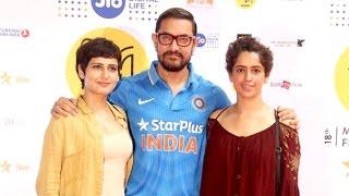 Aamir Khan With CUTE Daughters In Dangal Movie - Fatima Sana Shaikh & Sanya Malhotra
