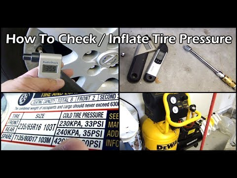 How to Check and Adjust Your Car's Tire Pressure
