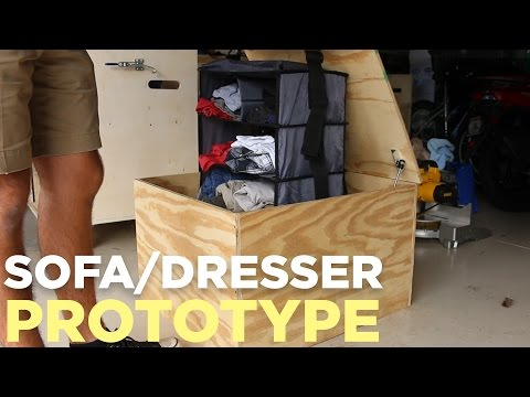 Sofa/Dresser Idea...