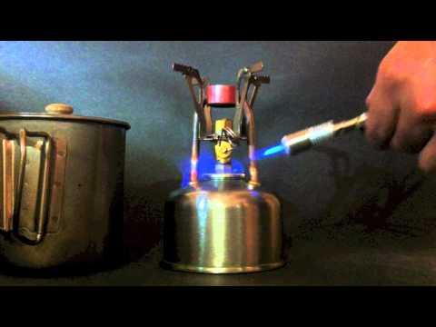 AZ-1218 Copper Coil Alcohol Stove