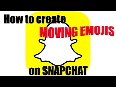 Tutorial | How to Create Moving Emojis on Snapchat