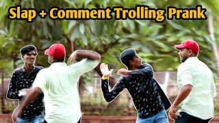 Slap Prank| Funny Pranks | Comment Trolling Prank _Part 2 | Prank shala | Pune