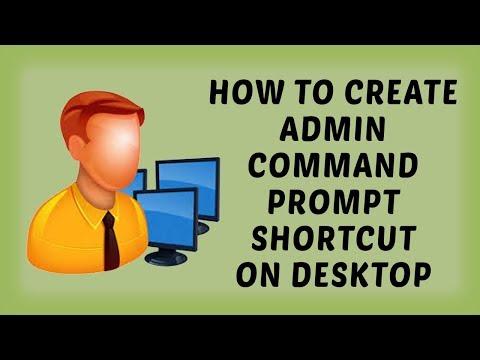 How To Create Admin Command Prompt Shortcut On Desktop | Windows Tutorials In Hindi