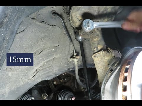 How to Replace a Sway Bar Link