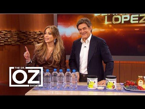 Jennifer Lopez Tells Dr. Oz Her Beauty Secrets