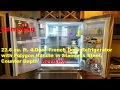 Samsung RF23M8090SG 22.6 cu. ft. 4-Door French Door Refrigerator with Polygon Handle Review
