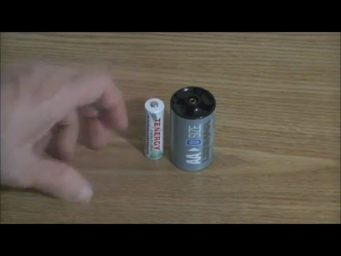 NO more leaking D cell batteries!