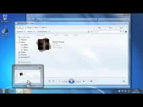 4910 Windows 7 Peek and Live Taskbar Preview