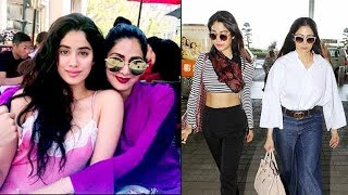 Sridevi & Daughter Jhanvi's Pics PROVE That They Are The Most STYLISH Mother- Daughter Duo