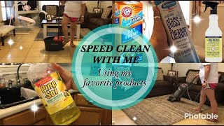 Speed Clean With Me | Using My Favorite Cleaning Products | Cleaning Motivation | Daisy Hearts