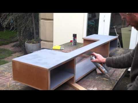 How to make a home recording studio desk