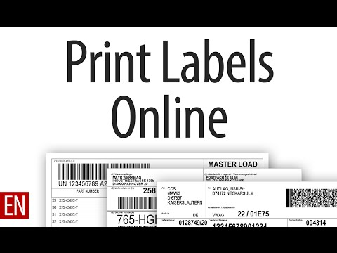 Create Labels in Your Browser With