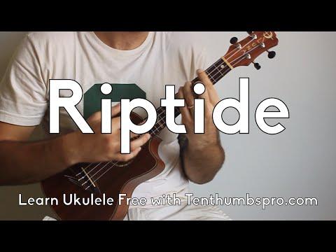 Riptide - Vance Joy - Super Easy Beginner Ukulele Tutorial - How to play Ukulele for Beginners