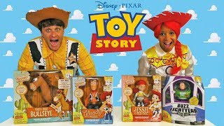 Toy Story Signature Collection Toy Challenge + Jesse & Woody !    Toy Review    Konas2002