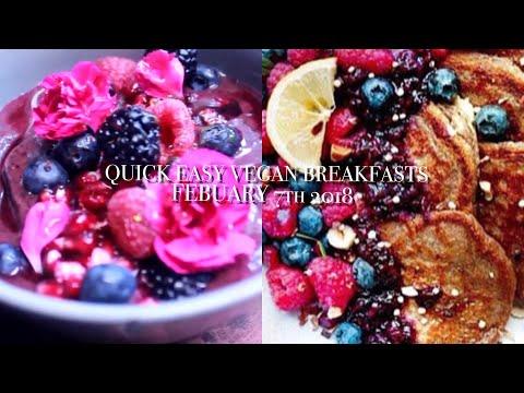 EASY VEGAN BREAKFAST RECIPES | 3 Ingredient Pancake Gluten Free
