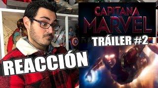 ¡El nuevo TRÁILER de CAPITANA MARVEL ya está aquí! | Captain Marvel Official Trailer 2