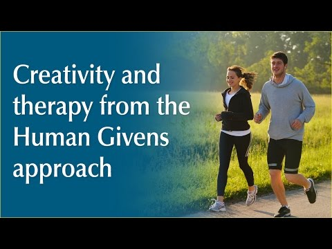 Creativity and therapy from the Human Givens approach