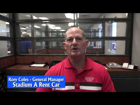 Stadium Rent A Car at Russell-Smith Collision Super Center - Houston, Texas