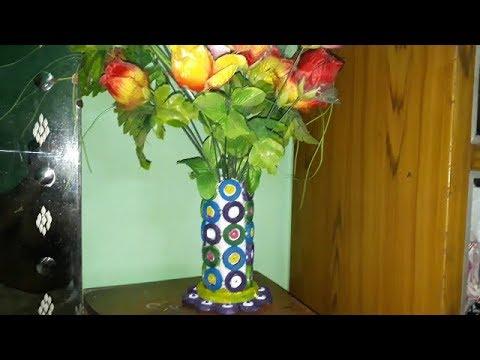 How to make a flower vase
