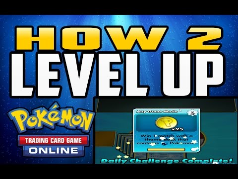 How to Level Up Your Account in Pokemon TCG Online