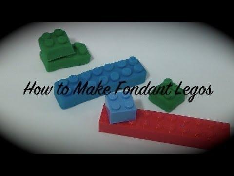 How to Make Fondant Legos