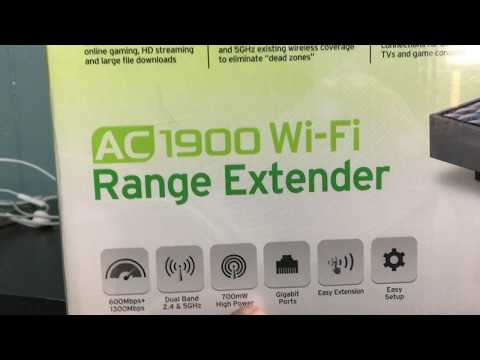 Setting up the TP-Link AC1900 WiFi Range Extender and Future Projects!