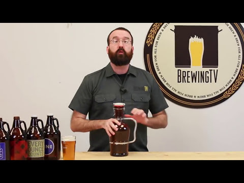 Bottling In Growlers Brewing TV