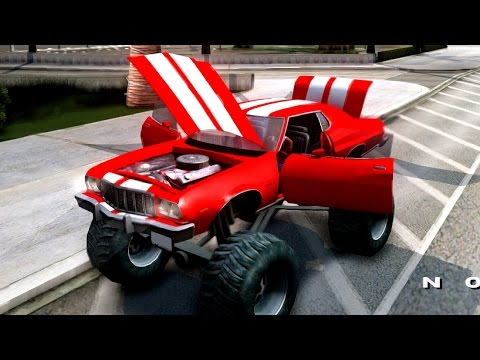 Ford Gran Torino Monster Truck | #161 New Cars / Vehicles 2 to GTA San Andreas [ENB]