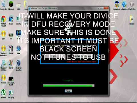How To Downgrade Ipod touch 2g MC model 4.x.x to 3.1.3 WITHOUT SHSH!!