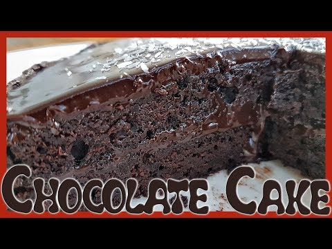 How to Make Eggless Chocolate Cake | Ultra Rich Dark Chocolate Cake Recipe