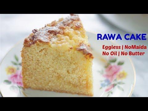 How to make Rava Cake in Pressure Cooker | Eggless Sooji Cake | Semolina Cake