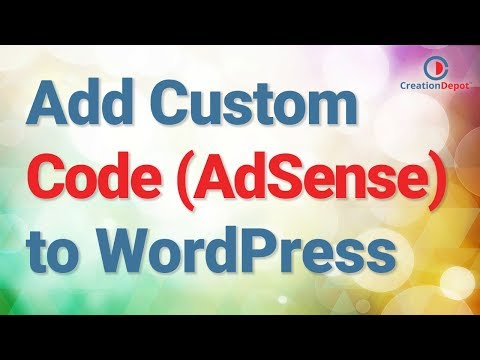 How to Add/Install Google Adsense to WordPress (or Custom HTML Code)
