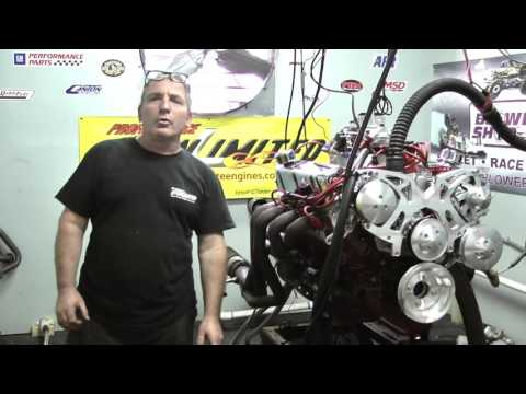 SBF 408W Stroker Crate Engine