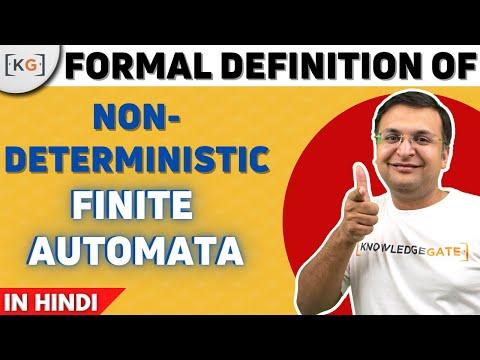 Formal Definition Of NFA In HINDI   Non Deterministic Finite Automata   TOC   AUTOMATA   part-31