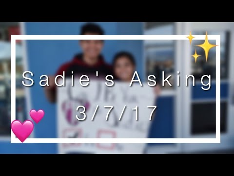 Sadie's Asking 2017