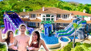 We Built THE WORLD'S BIGGEST WATERPARK in my BACKYARD!!