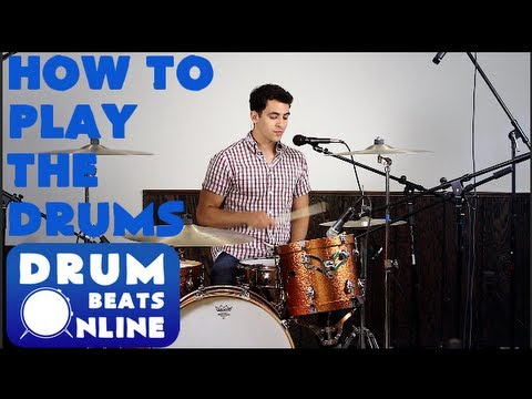 How To Play The Drums | BEGINNER DRUM LESSON