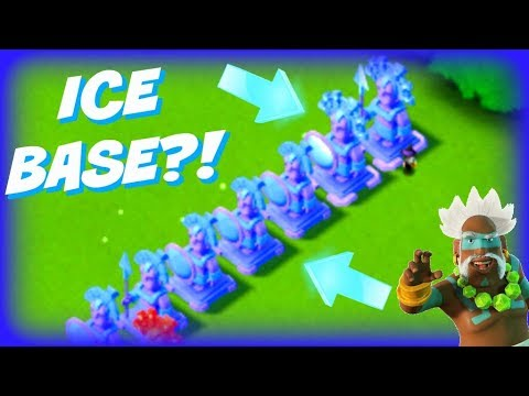 Boom Beach: NEW! 7 ice Base! DELETING My Statues!?