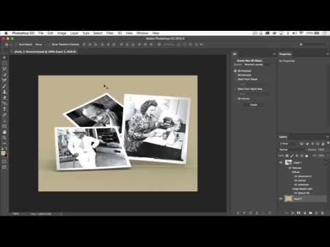 Photoshop CC Tutorial 3D: Speeding Up Rendering Time.