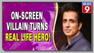 Actor Sonu Sood arranged 10 buses for the migrant workers to return home from Mumbai.