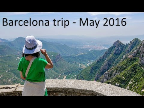 Barcelona Trip Montserrat 25 May 2016 4K