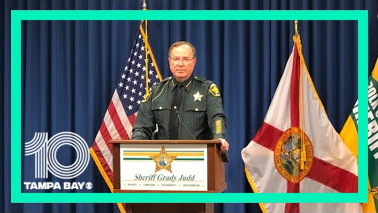 Polk Sheriff Grady Judd discusses drive-by that left two teens shot