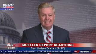 Download BREAKING: Lindsey Graham DEMANDS Democrat Investigations After Mueller Report Video