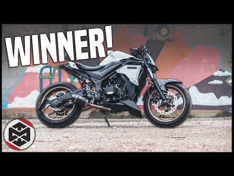 The WINNER of My STREETFIGHTER YAMAHA R3!