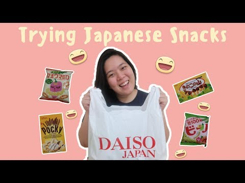 HAUL! JAPANESE SNACKS FROM DAISO (Philippines) | Life with Steph