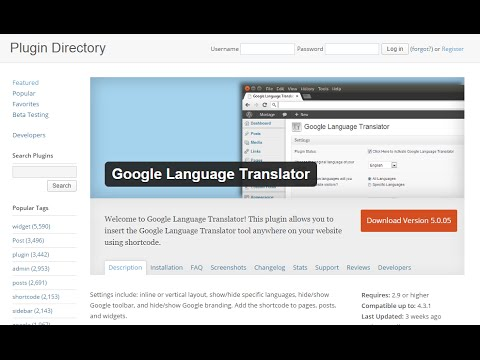 How To Add Google Translate To Your WordPress Website - Quick & Easy