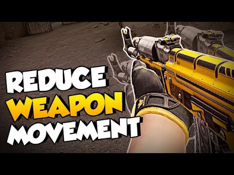 CS:GO Quick Tips - How to Reduce Weapon Movement