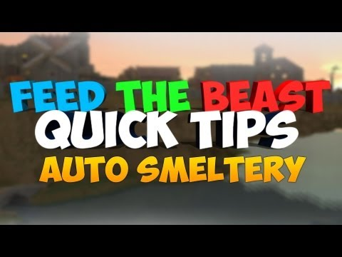 FTB Quick Tips: Tinkers Construct Auto Smeltery