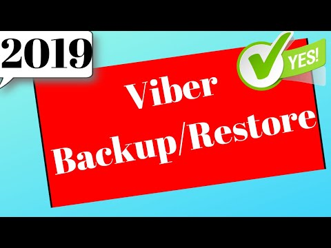 How to Backup & Restor Viber message on Windows (Step by Step)